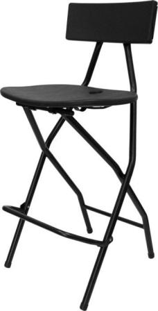 Black Tall Bar Chairs