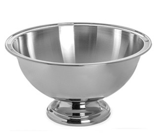 Punch bowl, stainless 5 gal