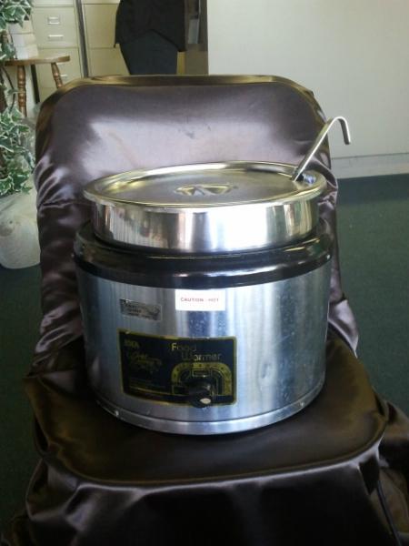 Soup Warmer, cooker 11 qt  W/Ladle