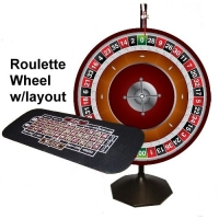 Roulette Prize Wheel & Layout