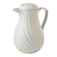 Small Tea Urn - White Swirl, 2L